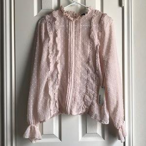 Sheer Pink Prairie Blouse